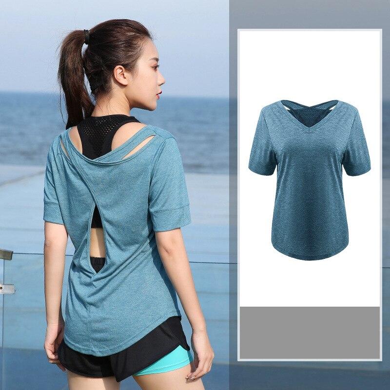 Большие размеры, L-4XL, Женский Топ для йоги, Спортивная футболка, укороченные топы для йоги, рубашки для йоги с коротким рукавом для тренировок, топы для фитнеса, бега, спортивная одежда
