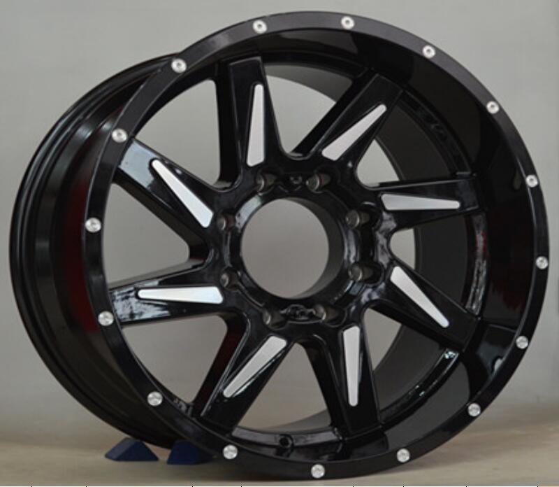 20 pulgadas 20x10,0 5x139,7 5x150 ET -19 CB 110 mm llantas de aleación de aluminio para coche