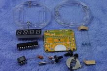 Freies Verschiffen! 4 stücke MCU LED uhr kit LED uhr DIY kit Digitale uhr Elektronische Tabelle