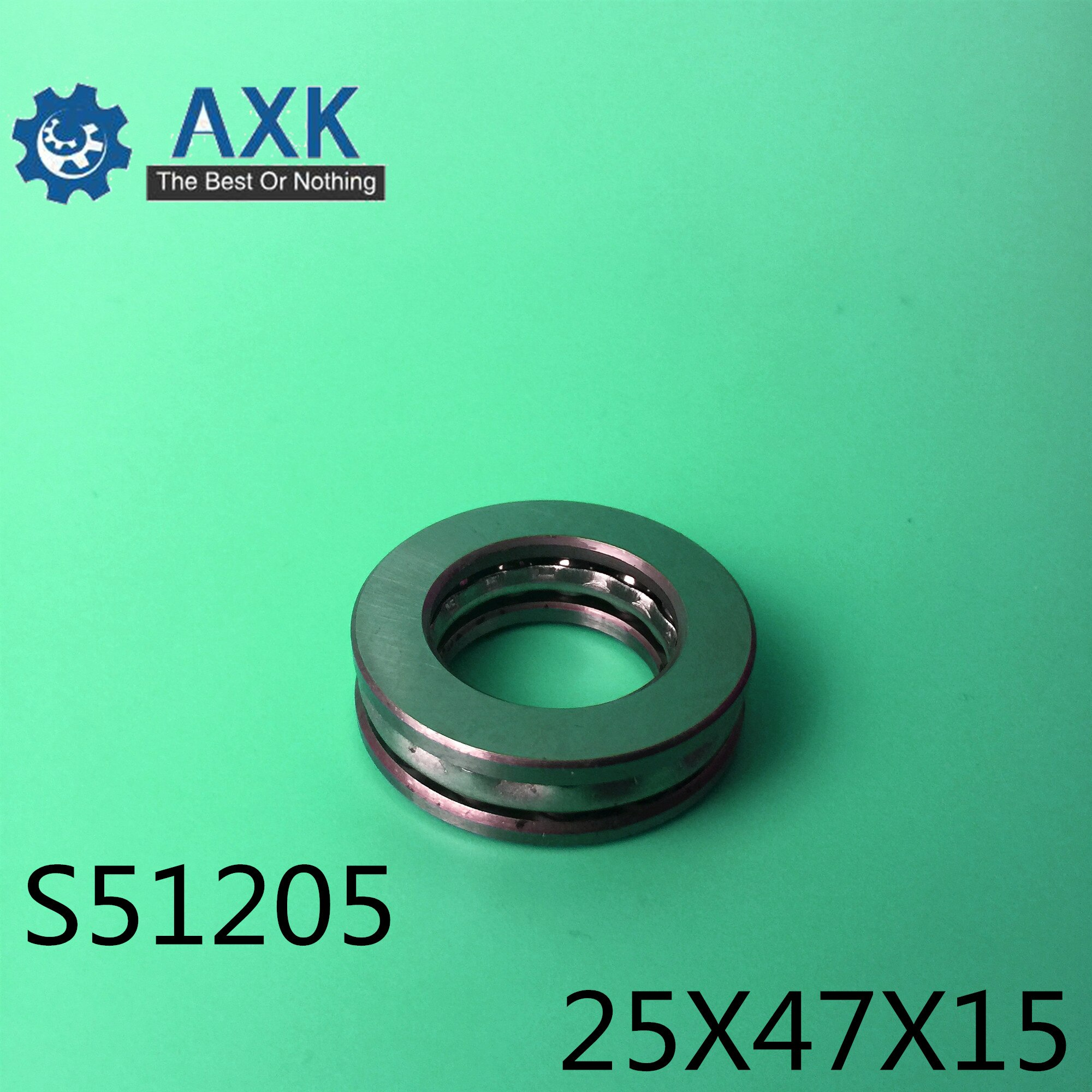 2pcs set stainless steel ball bearing smr105 2os cb abec 7 ld 5 10 4mm S51205 Bearing 25*47*15 mm ( 2PCS ) ABEC-1 Stainless Steel Thrust S 51205 Ball Bearings