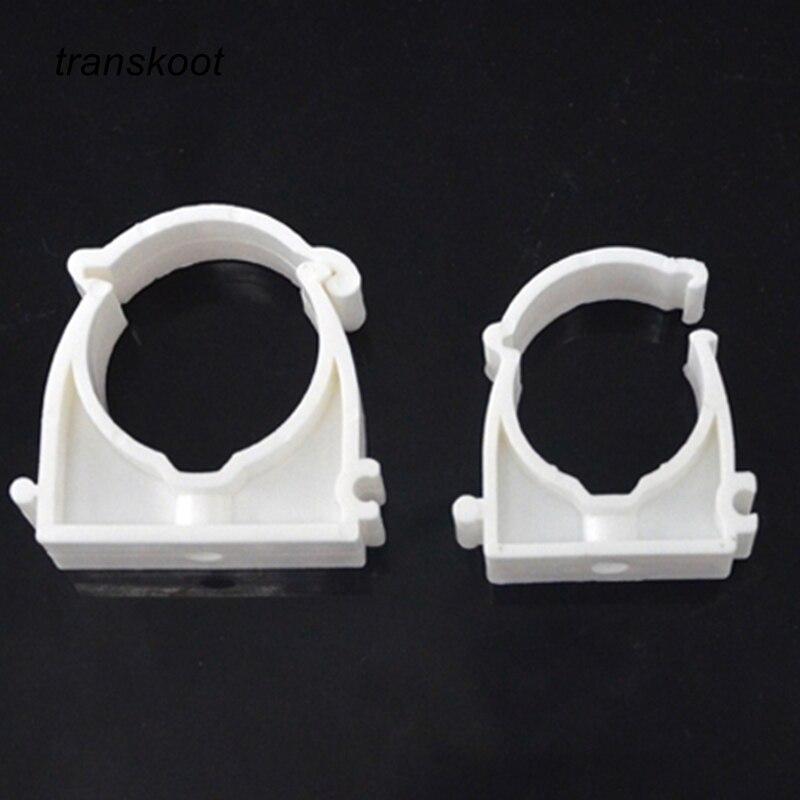 Пластиковый держатель PPR для водопроводных труб диаметром 16 мм, 20 мм, 25 мм, 32 мм, 10 шт.