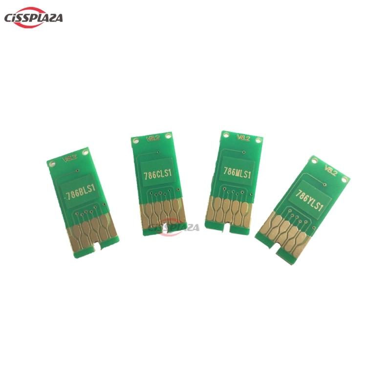 Cissplaza t7891-t7894 chip de reset automático compatível para epson workforce pro WF-5620DWF WF-5690DWF WF-5110DW WF-5190DW impressora