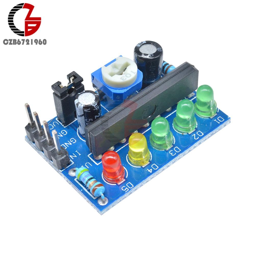 DC 3,5 V-16V KA2284 Power Audio Spannung Ebene Anzeige Batterie Kapazität Anzeige Rot Grün LED für Voltmeter Volumen VU Meter