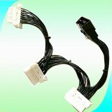 10% скидка, высокое качество, новый разветвитель OBD 2 Y, Удлинительный кабель OBD2, 16 контактный штекер на тройной гнездо ELM327, электронный соединитель CNPAM