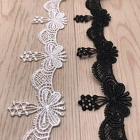 1yard water soluble lace hollow trims clothing accessories5 2cm width two colors