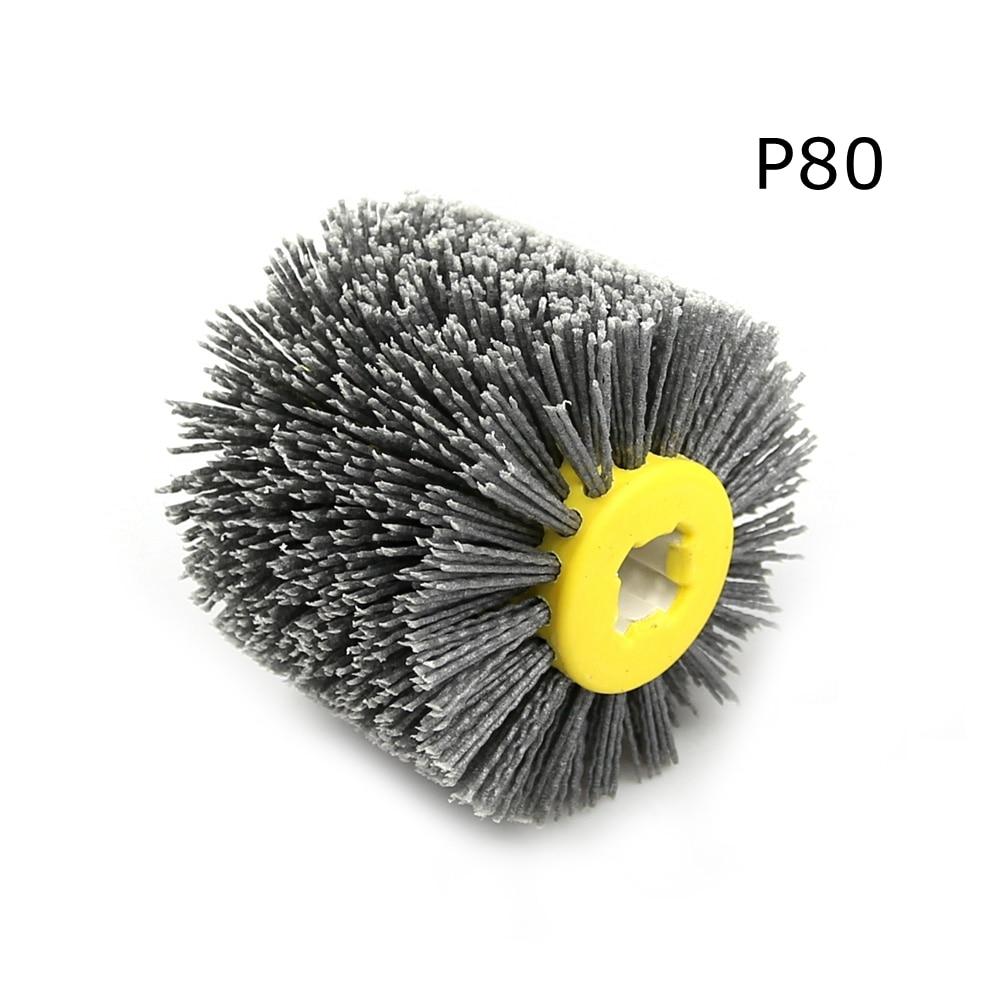 1 stks 120 * 100 * 19 mm nylon schurende draad drum polijstschijf - Schurende gereedschappen - Foto 2