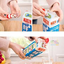 Hermosa mini-Transmisión con tapa, caja de bebida, leche, bebida, boca extendida, seguridad del bebé