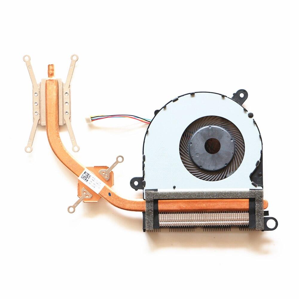 Ventilador de cpu portátil para asus UX310 ux310uq rx310 U4000U cpu ventilador de refrigeración con disipador térmico
