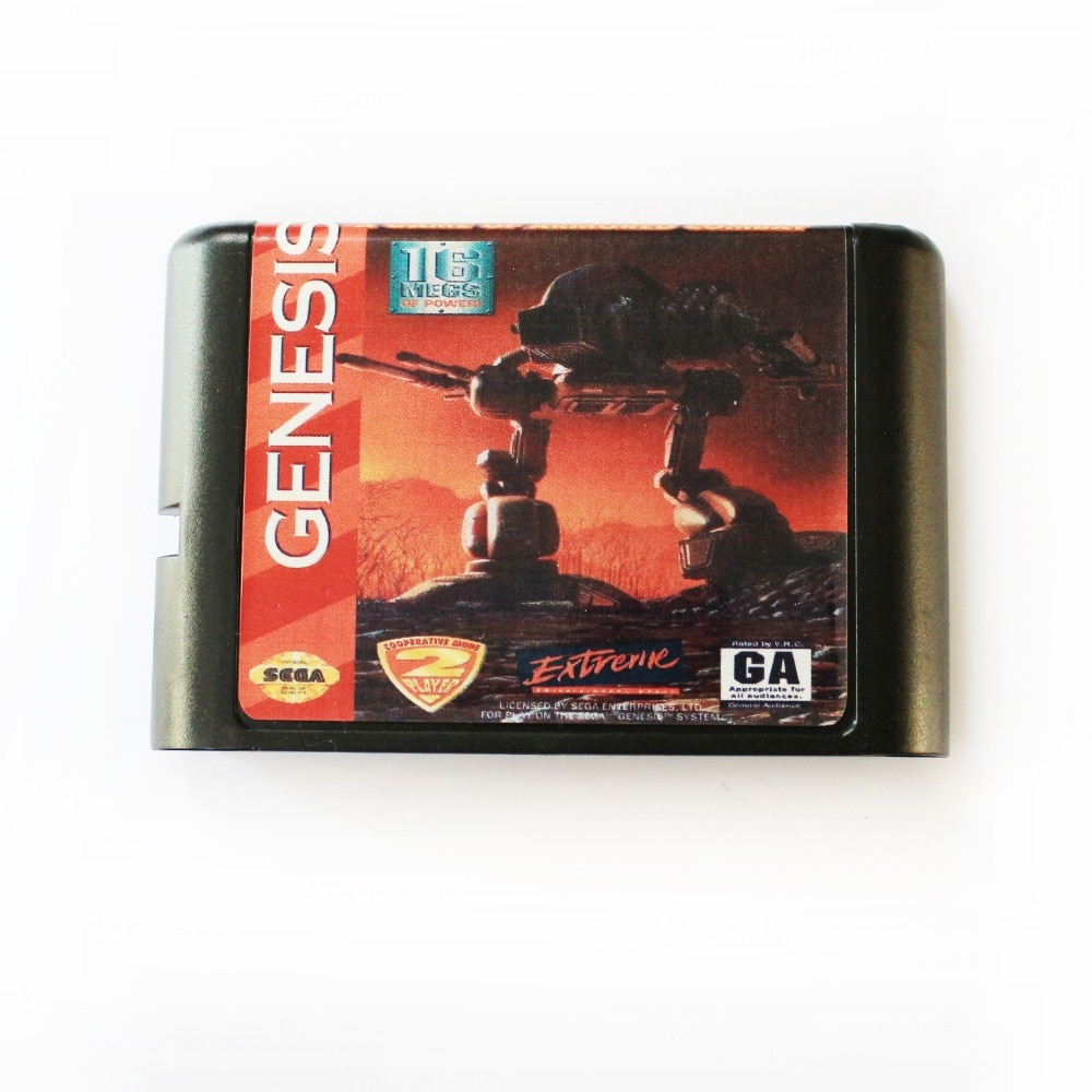 Battletech 16 bit md cartão de jogo para sega mega drive para sega genesis