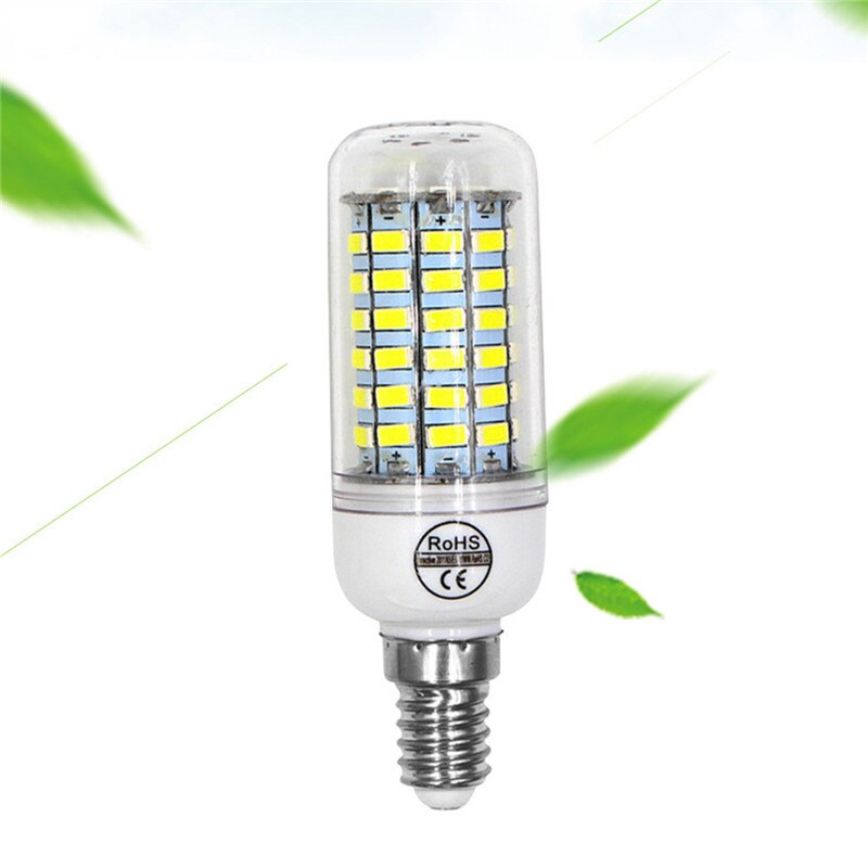 Hot sale E27 led corn bulb with warmwhite/white 3W 4W 5W AC220V 110V LED bulb with EU/US plug led light bulb 5730SMD