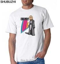 Mężczyźni obi-wan Ginobili #20 Manu Ginobili koszulka koszulki koszulka z krótkim rękawem moda męska San Antonio komiks kreskówka euro rozmiar