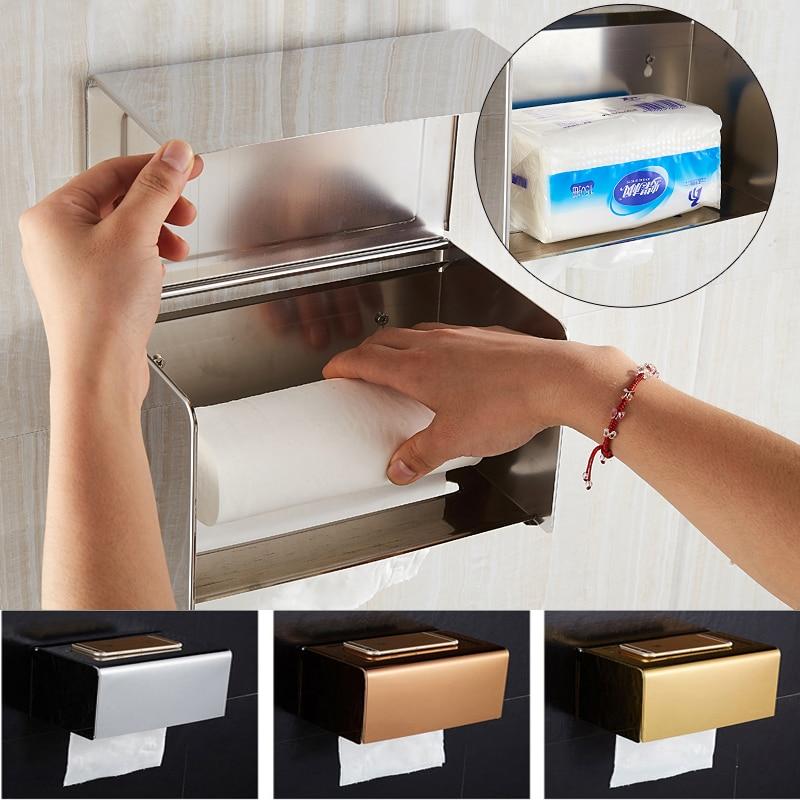 Toilet Paper Holders Toilet Paper Rack Holder Bathroom Tissue Holder Paper Dispensador De Papel Toalla Toilet Papers Holder