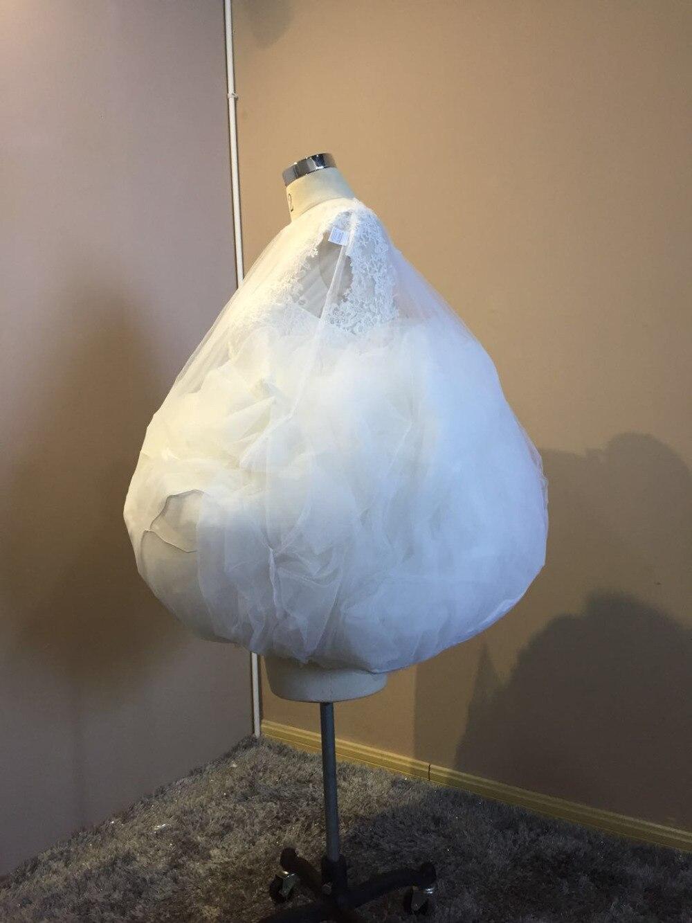Parter nupcial fácil de usar en el baño enagua/crinolina/Ropa interior novia Slip accesorio de vestido de novia ahorrar agua