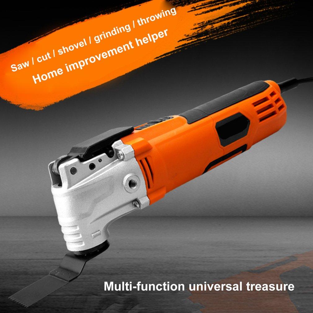 Cortador eléctrico multifunción de 260 W recortador de carpintería herramientas oscilantes sierra eléctrica herramienta de renovador multimaestro