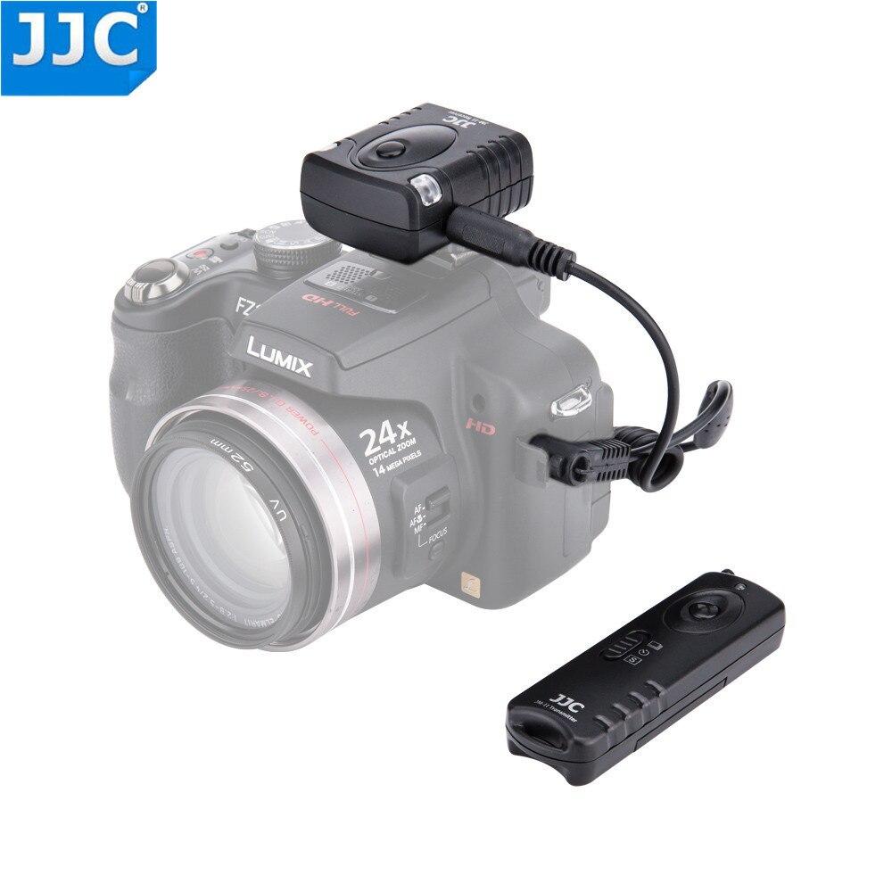 JJC Cámara 433MHz disparador liberación mando inalámbrico de radiofrecuencia para PANASONIC DC-G9/DMC-FZ20/DMC-FZ20K/DMC-FZ20S/DMC-FZ30