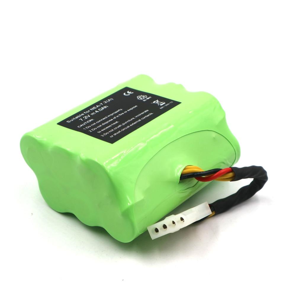 C & P مكنسة كهربائية بطارية Neato 7.2 فولت 4000mAh ni-mh 945-0005 205-0001 945-0006 945-0024 XV-11/12/14/15/21/PRO 4.0Ah China NiMH
