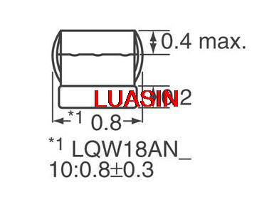 Envío Gratis 50 unids/lote 0805 chip inductor 390nm LQW2BASR39J00L 5% bobina inductancia alta frecuencia alto valor Q