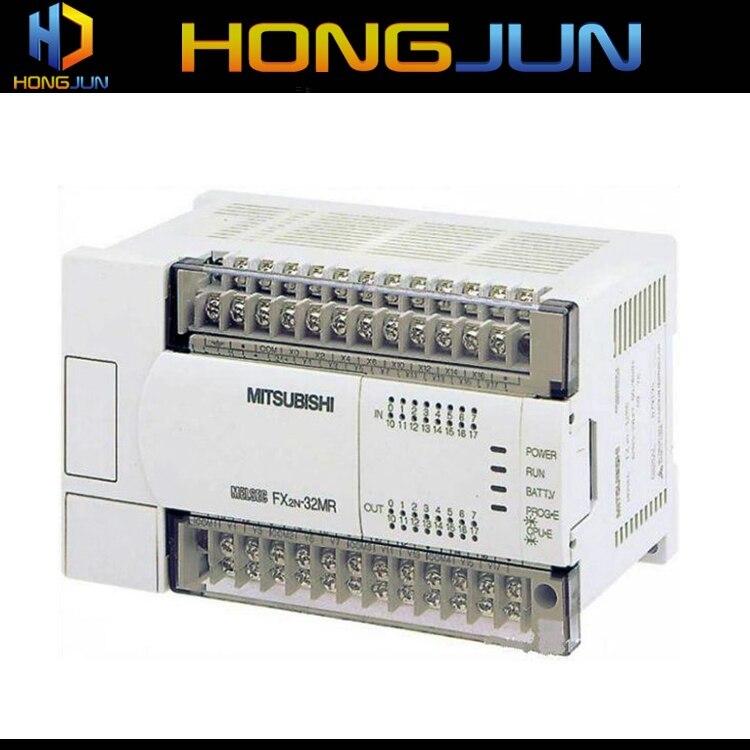 Controlador PLC de la familia FX de alta velocidad Mitsubishi FX2N-32MT-ES/UL para planta de almacenamiento de aceite