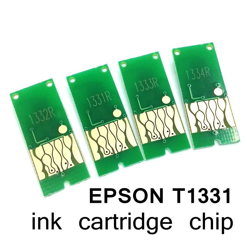 T1331 133XL chip de redefinição de cartucho de tinta adequado para N11 NX420 T12 T22 TX120 NX125 TX129 TX420W TX235 TX430W NX230 TX130