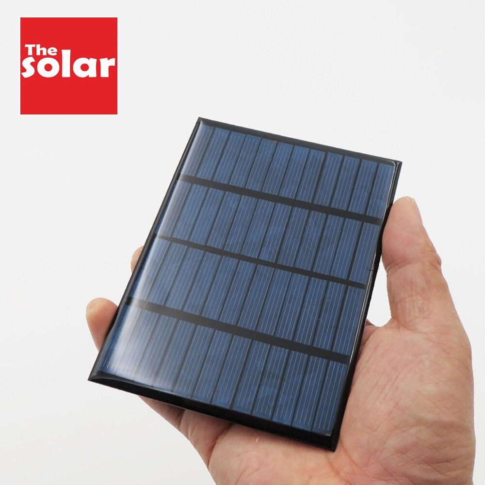 12 V 1.5 2 3 4.2 7 W Polycrystalline DIY Battery Silicon Solar Panel Standard Epoxy Power Charge Module 115x85mm Mini Solar Cell