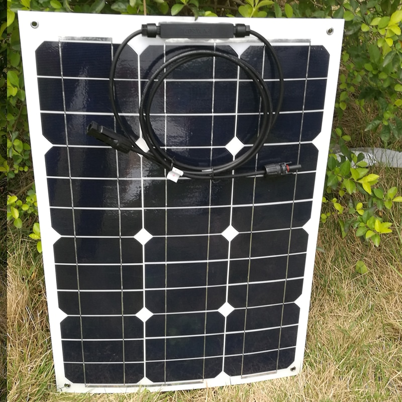 Panel Solar Flexible para autocaravanas, autocaravanas, coches, Camping, sistema Solar LED, 35W, 210w, 245w, 280w, 315w, 350W, 220v, cargador de batería