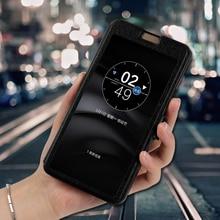 Housse de protection En Cuir Étui Pour LG G6 Q6 Mini Plus K4 K5 K7 K8 K10 2017 2018 coque de téléphone de luxe Rapide Fenêtre Étui Pour LG C70 C40