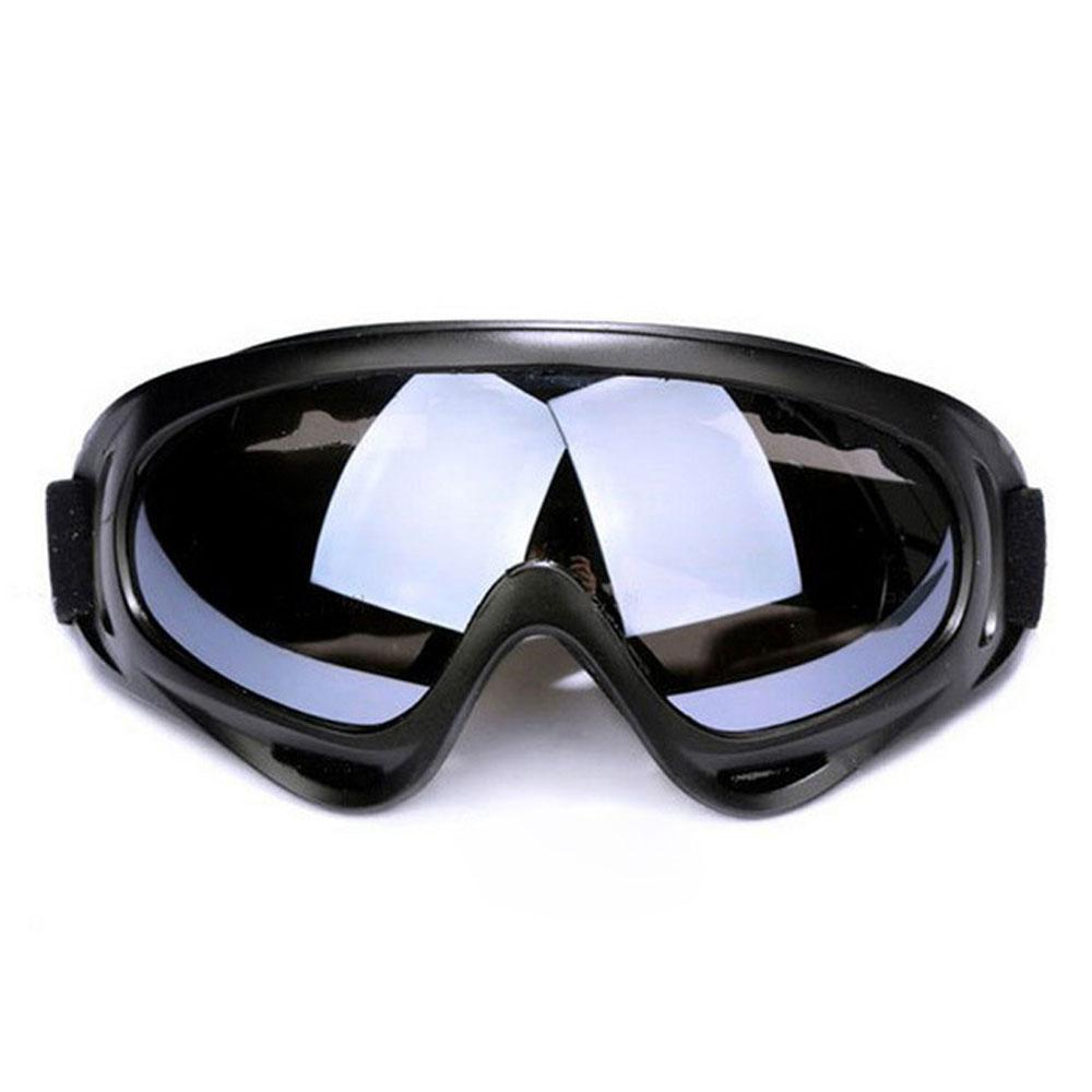 Gran oferta de Snowboard Anti-fog Snowmobile a prueba de viento gafas a prueba de polvo Skate esquí gafas de sol gafas de esquí de invierno gafas de esquí
