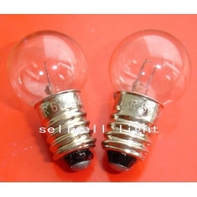Krypton lampe 6v 0.4a E10 G16 A554 NOUVEAU 10 pièces sellwell déclairage