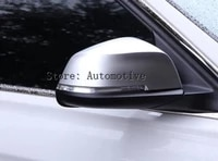 2pcs chrome side mirror cover rearview trim decoration for bmw 3 4 series f30 f34 gt 2013 17 accessories car styling