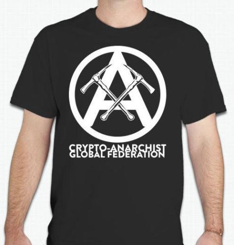 ¡Gran oferta 2019! Camiseta anarquista Crypto de la federación Global, camiseta anónima Anon, moda de verano, anarquía