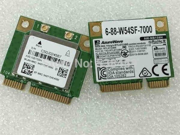 SSEA Оптовая Продажа Новинка для Realtek RTL8723BE AZUREWAVE AW-NB159H мини PCI-E Wifi Bluetooth 4,0 Беспроводная карта