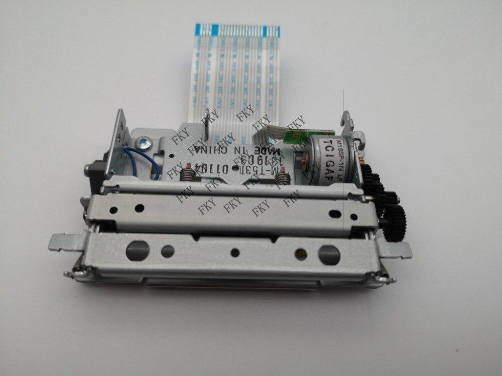 Nowy oryginalny mechanizm drukarki dla Epson M-T53II m-t53ll 58 MM drukarka termiczna głowica drukująca drukarka pokwitowań głowicy drukującej MT53II