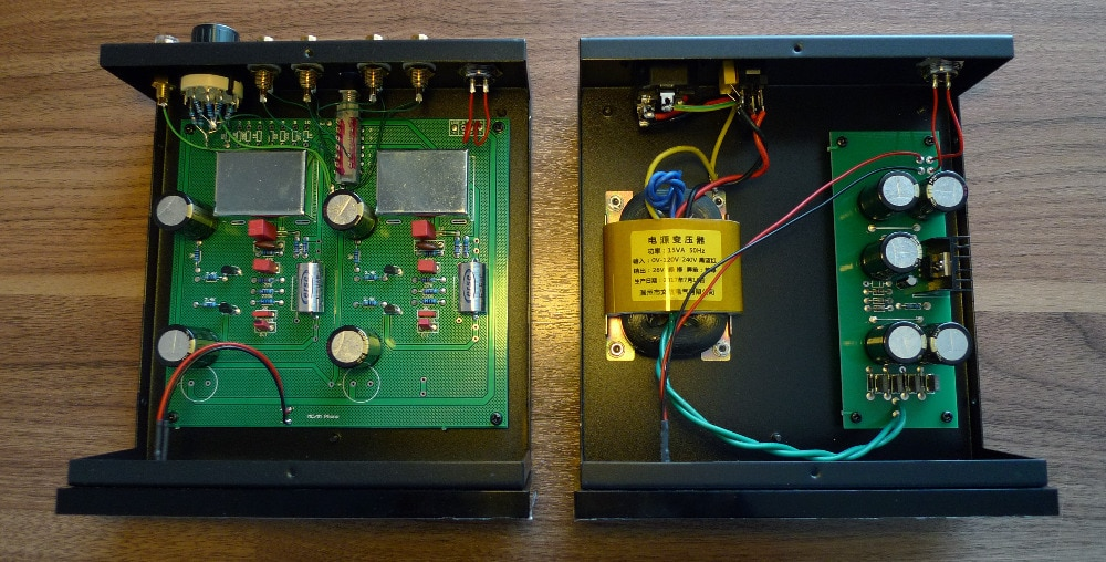 MM/MC/salida RIAA Pre-amplificador HiFi dividir SALIDA AMPLIFICADOR Profesional Dispositivos
