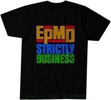 Epmd بدقة الأعمال الترويجي تي شيرت-الكلاسيكية الهيب هوب ضرب فرقة نقية هدية الياقة المستديرة الكرتون
