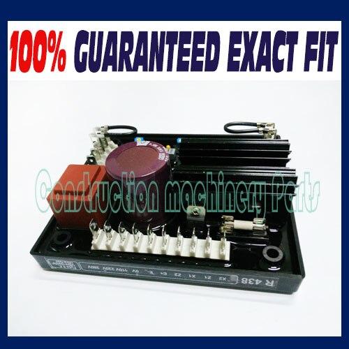 Regulador de voltaje automático R438 para alternadores