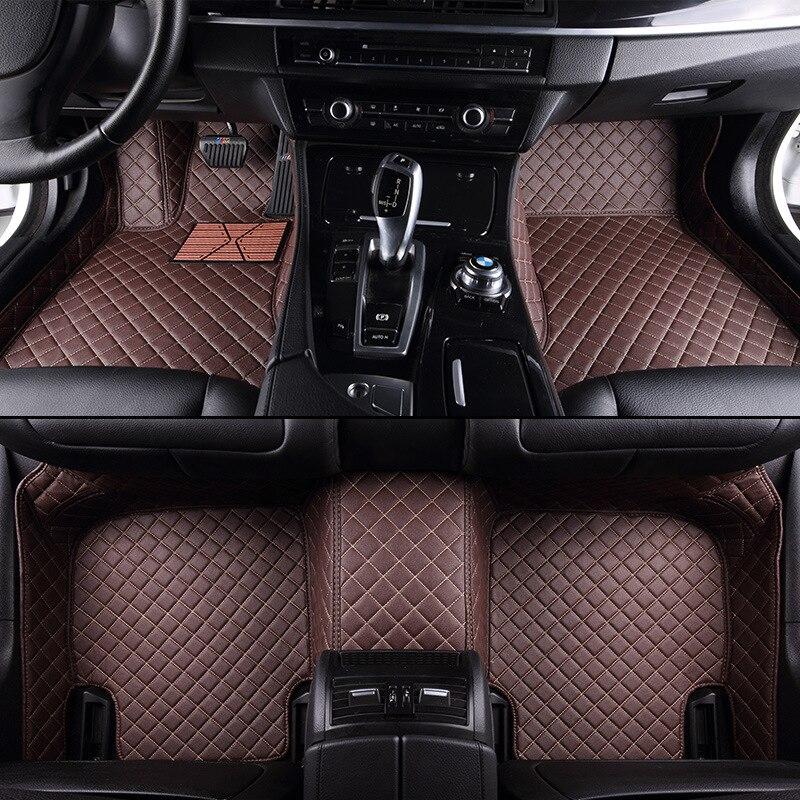 kalaisike Custom car floor mats for Infiniti all models FX EX JX G M QX50 QX56 QX80 QX70 Q70L QX50 QX60 Q50 Q60 car accessories enlarge