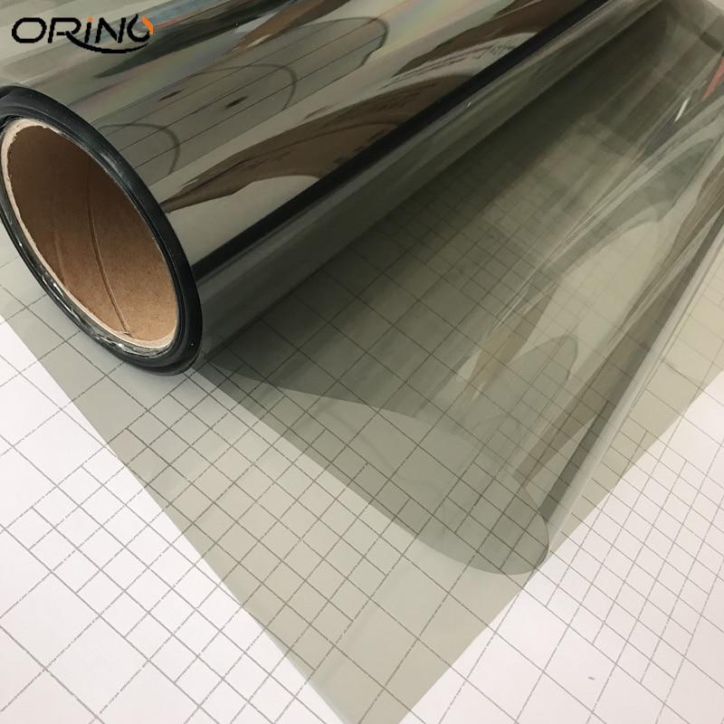 50cmx500cm Grey Car Window Tint Film Glass VLT 70% Roll PLY Car Auto House Commercial Solar Protection