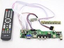 Latumab  Kit for BT156GW01 V.4 TV+HDMI+VGA+USB LCD LED screen Controller Driver Board  Free shipping
