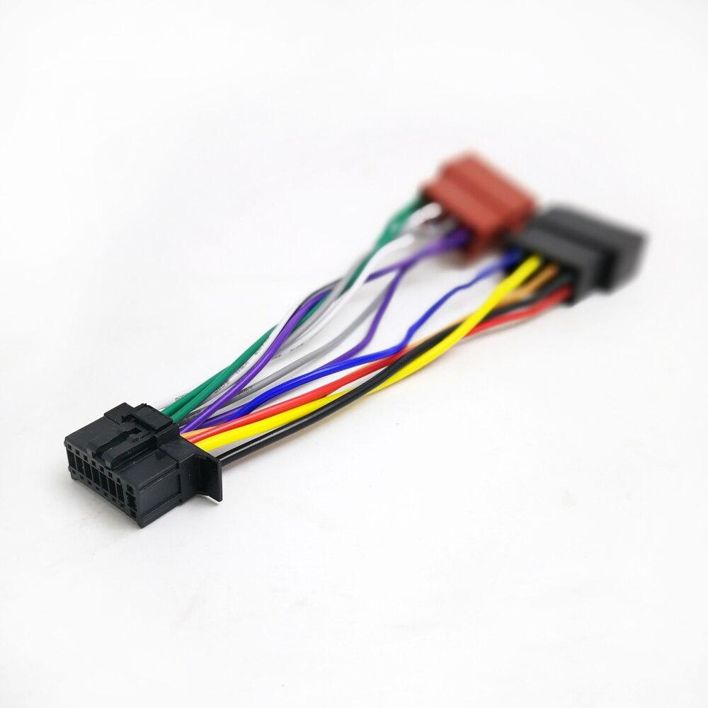 Biurlink ISO cableado adaptador arnés 16Pin puerto para Pioneer modelos de RADIO...