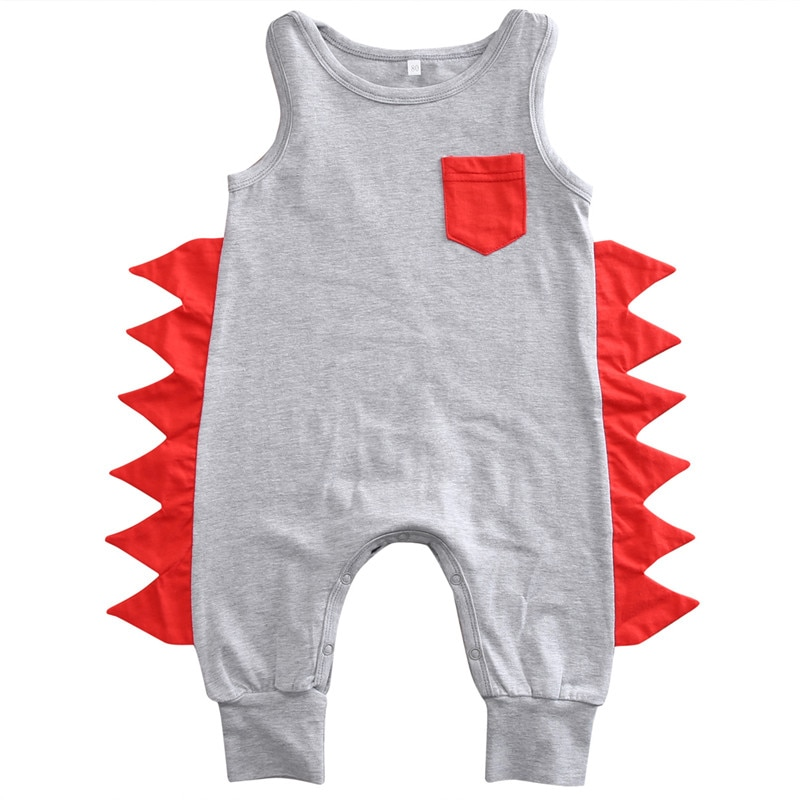 2019 Brand Sleeveless Infant Baby Boys Cotton Romper Jumpsuit Playsuit Outfit Clothes 0-24M