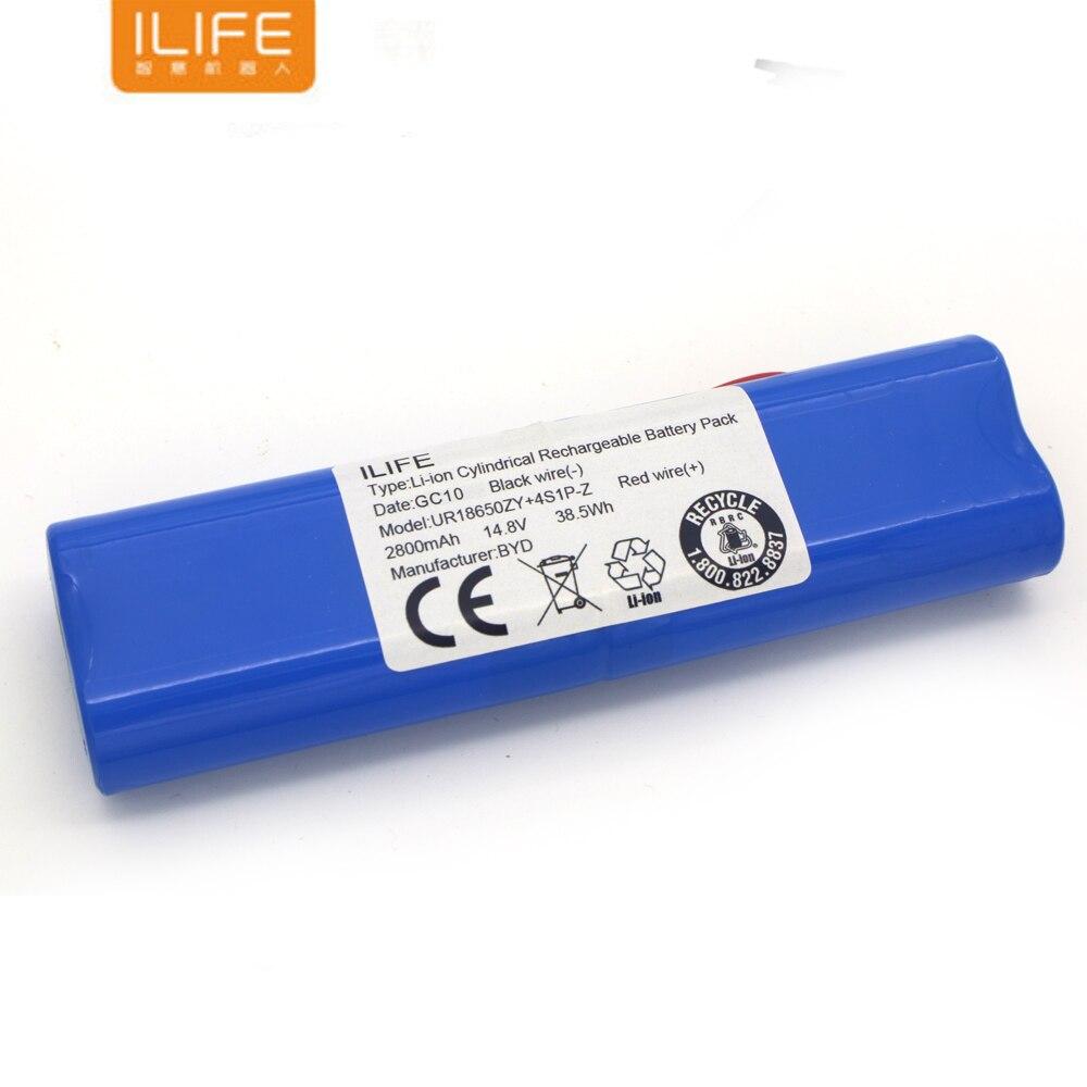 Аккумуляторная батарея ILIFE ecovacs 14,8 в 2800 мАч, аксессуары для роботизированного пылесоса, детали для Chuwi ilife V50 V55 V8s