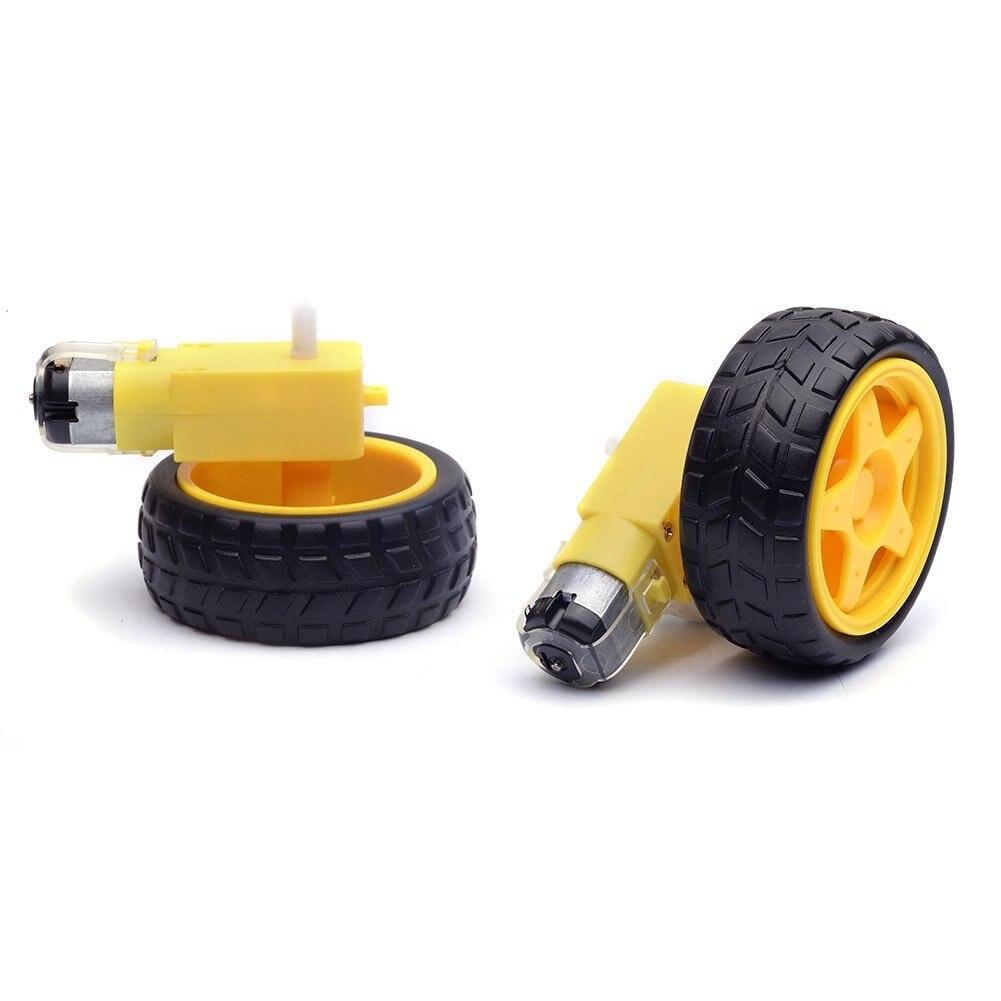 2 шт Пластиковые колеса шины с зубчаты�