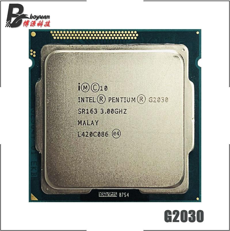 Intel Pentium G2030 3,0 GHz Dual-Core CPU procesador 3M 55W LGA 1155