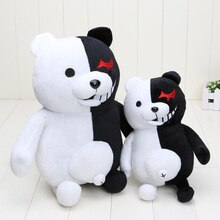 Dangan Ronpa Super Danganronpa 2 Monokuma Black & White Bear Pluchen Speelgoed Soft Knuffeldier Poppen Kerstcadeau