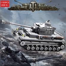 1193Pcs Military German Panzer IV War Tank WW2 ARMY War Model Building Blocks Sets Brinquedos Bricks Education Toys For Children