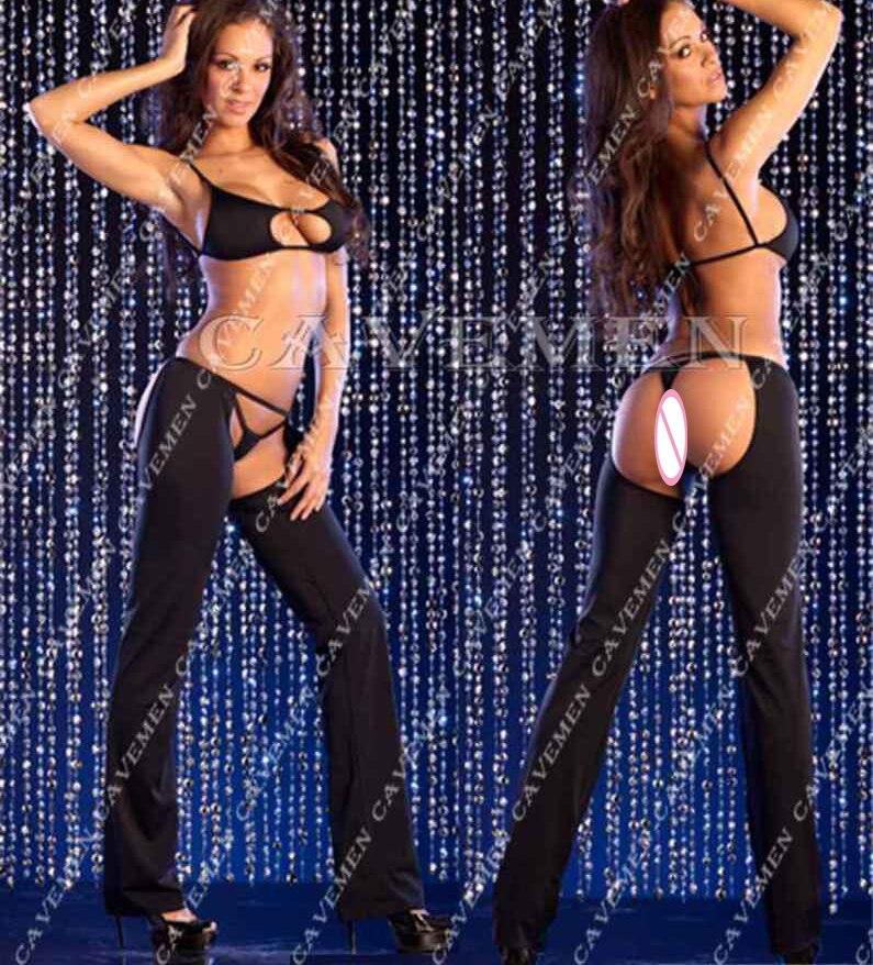 Charming Bare buttocks Three sets* 2564 *Ladies sexy G-string T-back Teddy Bikini Boxer Triangle Pajamas Suit Free Shipping