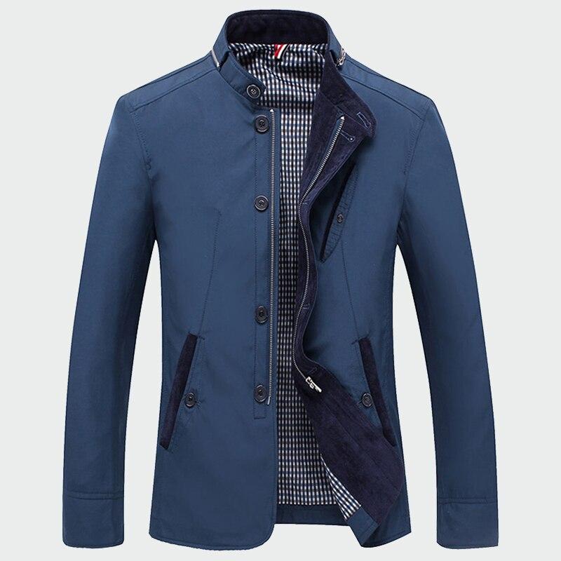 Nueva chaqueta de primavera otoño 2020 para hombre, rompevientos militar fino con cremallera para hombre, prendas de vestir, abrigos informales, abrigo masculino 4XL ML257