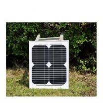 Panneau solaire haute efficacité 10w 18v cellules solaires monocristallines prix 12v charge solaire batterie chargeur dénergie kit solaire pour la maison