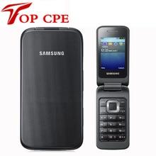 """Originale Per Samsung C3520 Sbloccato Il telefono Mobile di Vibrazione 1.3MP Nero/Argento/colore Rosa colore 2.4 """"1 Anni di Garanzia"""