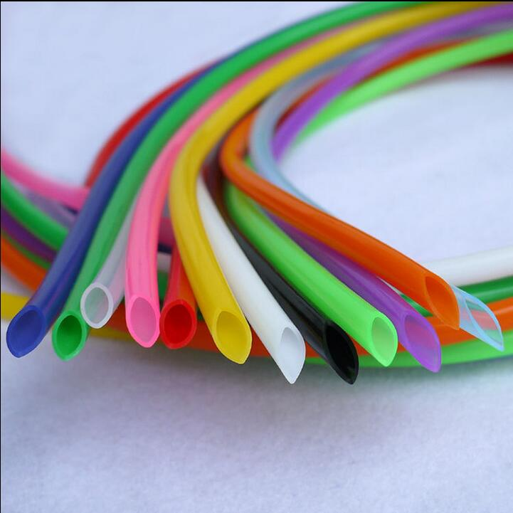10 M/1 lote ID 10mm * OD 12mm tubo de manguera de silicona colorido de grado alimenticio insípido 10x12
